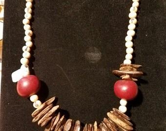Acai and Tagua nut beads