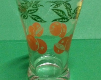 Vintage Tumblers with Oranges Design  (3)