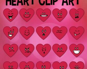Valentine Clip Art, Heart Clip Art, Valentines Day School, Classroom Heart, Color Emoticon, V Day, Classroom Download, Heart Emojis, Emoji