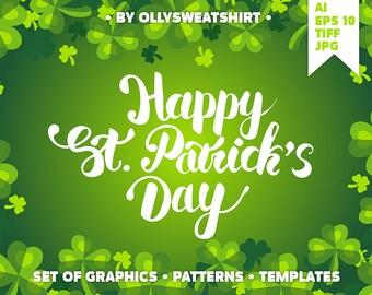St. Patrick's Day Set Of Graphics