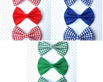 Hair Bow- School Hair accessoires (set of three) available in three colours
