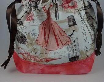 Paris / Seamstress project bag