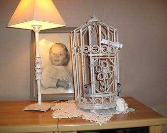 birdcage in rolled paper