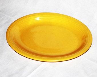 vintage Fiesta Platter Yellow