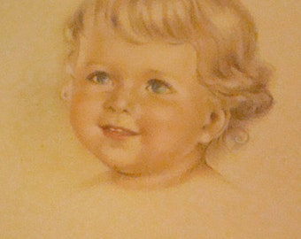 SALE Adorable Child Vintage Postcard # 2
