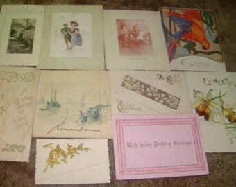 36 Victorian Scraps (Cards)