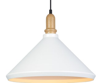 White Minimalist Pendant Lighting
