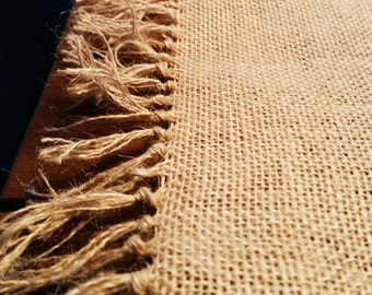 Burlap Placemat, Table Runner