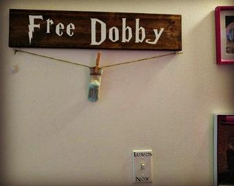 Harry Potter Free Dobby Sign -