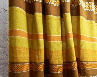Curtain - VINTAGE - funky 70's