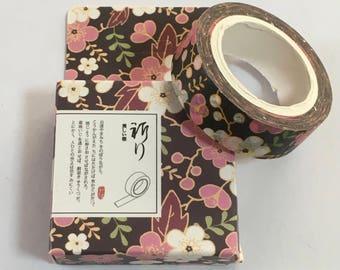 Japanese Masking Tape - Sakura Design Tape - Masking Tape - Decorative Tape - Gift Wrapping Tape - Scrapbooking Tape - Japanese Tape