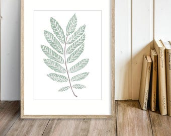 Greenery Digital Download - Greenery Printable - Foliage Art - Plant Art - Plant Printable - Foliage Printable - Tree Leaves Art - Leaves