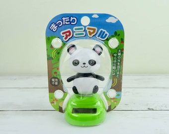 Solar Powered Dancing Panda | Japanese Gift | Cute Car or Office Decor