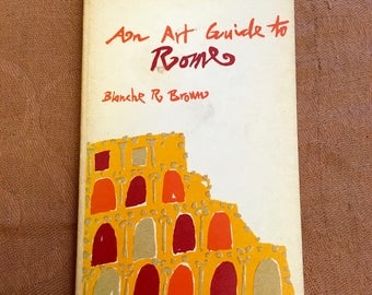 1966 Art Guide to Rome