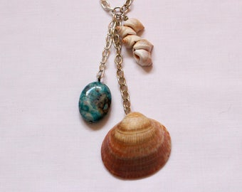 Necklace 'Summer beach'