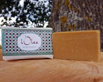 Organic SOAP lime and Mauve