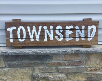 Rustic Wooden Sign, Name Sign, Wall Sign