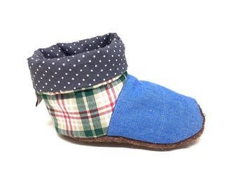 Comfortable baby shoes for spring, 6-9 months, baby booties, baby boots, spring baby boots, baby boots 6 months, first baby shoes