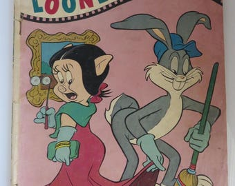 Dell Looney Tunes Comic, No. 214, August 1959, Vintage Comic Book