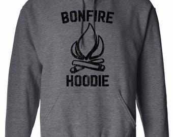Bonfire Hoodie. Camping Hoodie. Bonfire Camping Hoodie. Camping Shirt. Bonfire. Camping Hoodies. Women's Men's. S - 3XL. Many Colors.