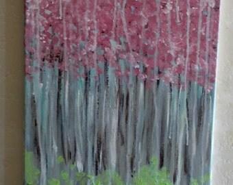 Rain of Cherry trees