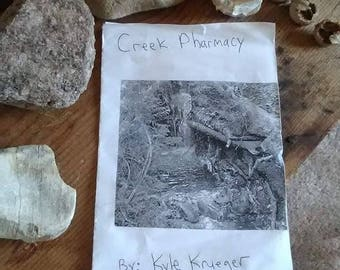 Creek Pharmacy: A zine about a wild eco system in Southern Wisconsin