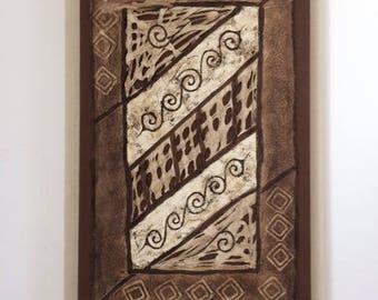 Amate Bark Paper Art