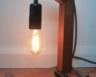 Red Cedar Table Lamp