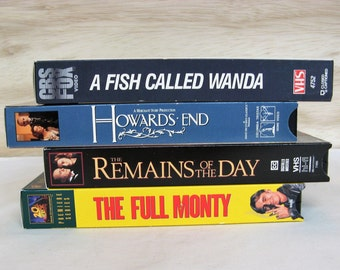 Your Choice of British Humor or British Drama on VHS Tape