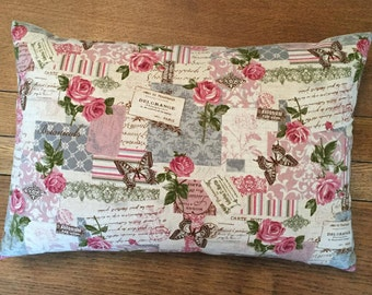 Shabby Chic Cushion Cover/Pillow