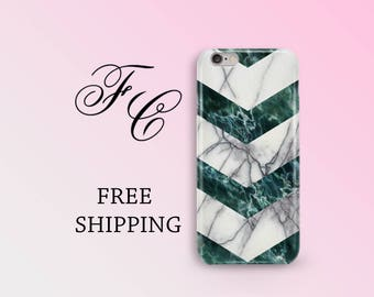 White Marble iPhone 8 Case iPhone SE Marble Phone Case iPhone 7 Plus Hard Plastic iPhone 7 Case iPhone 5 Marble Geometry iPhone 6 Plus ccf