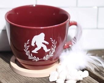Beautiful Bigfoot- Elegant Cryptozoology Coffee Mug