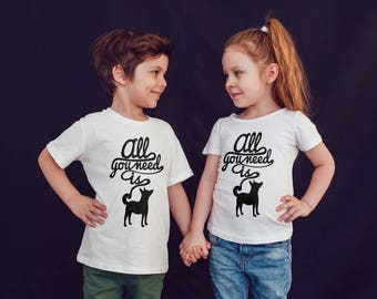 Dogs Kids Shirts Kids tshirt Toddler Shirt Dog Gift For Kids Children Shirts Kids Shirt Kid T-Shirt Boys Top Girls Top Rock Kids Clothes