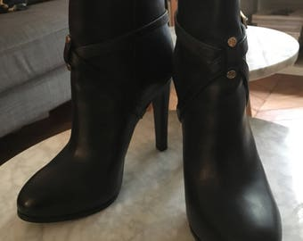 TORY BURCH / Boots in black leather