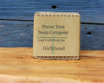 Girlfriend Goat's Milk Soap Body Bar