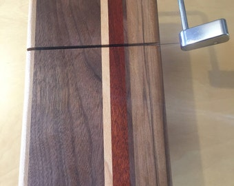 Cheese Cutter Handcrafted with Bloodwood,Red Gum, Cherry & Mahogany