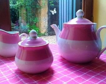 Tea Set - French porcelaine vintage set