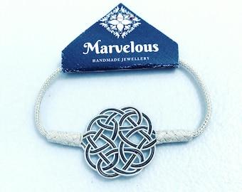 Charm Bracelet Handmade & Handwoven (Kazaziye) Pure Silver