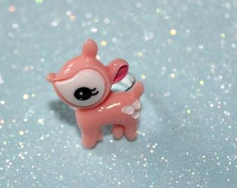 Pastel Pink Hummingmint Ring