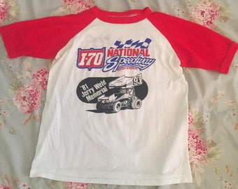 Vintage National Speedway shirt