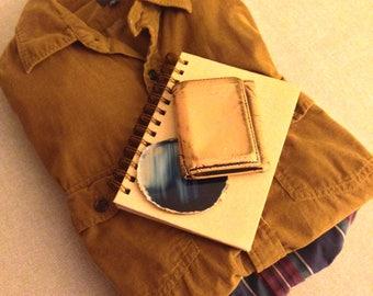 The Hudson Boxx (Vintage Shirts, Fossil Leather Wallet, Sketchbook, & Agate Gemstone)