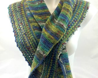 Not a Shawl, Shawlette Crochet Pattern