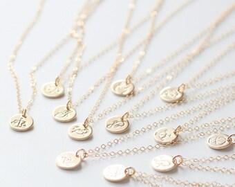 Gemini Necklace, Zodiac Necklace, Gold Gemini, Zodiac Jewelry, June Birthday Gift, Gemini Sign, Dainty, Small Gemini Charm, Best Friend Gift