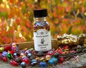 Gypsy Magick Spell Oil - Luck, Fortune, Divination, Travel, Psychic Awareness, Mysticism, Spirituality, Pagan, Wicca