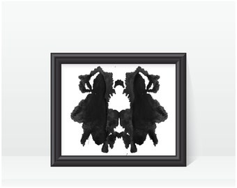 Rorschach Ink Blot Art print no 29