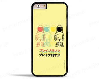 iPhone 7 Case Astronaut Phone Case Samsung Galaxy S7 Case Japanese iPhone 7 Plus Brave Moonman Space