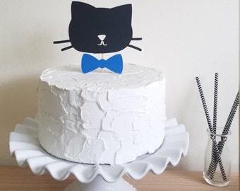 Cat cake topper Etsy