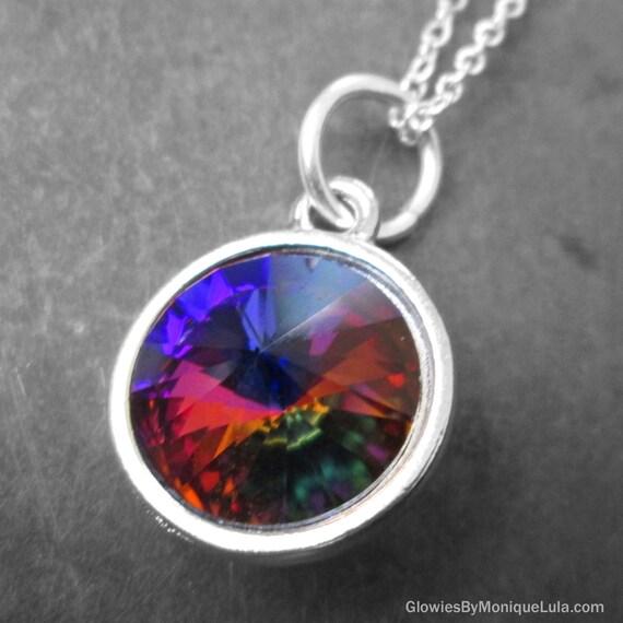 Swarovski Crystal Volcano Rivoli Necklace