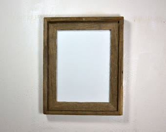 9 x 12 picture frame from eco friendly reclaimed wood