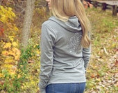 sweatshirt hoodie. yoga hoodie. northern michigan. comfy clothing. up north girl. womens hoodie. lightweight jacket. zip up hoodie
